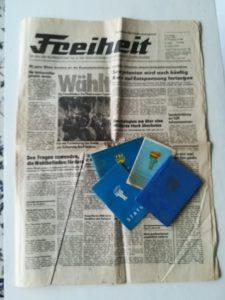 """DDR Zeitung """"Freiheit"""""""