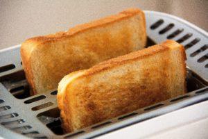 Toast aus dem Toaster