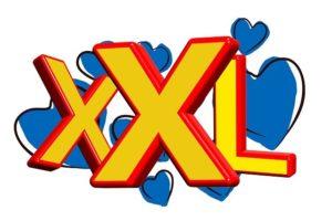XXL Schriftzug