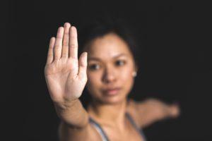 Selbstverteidigung Frau