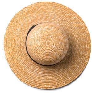 Hut aus Stroh