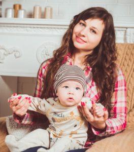 Mama und Baby