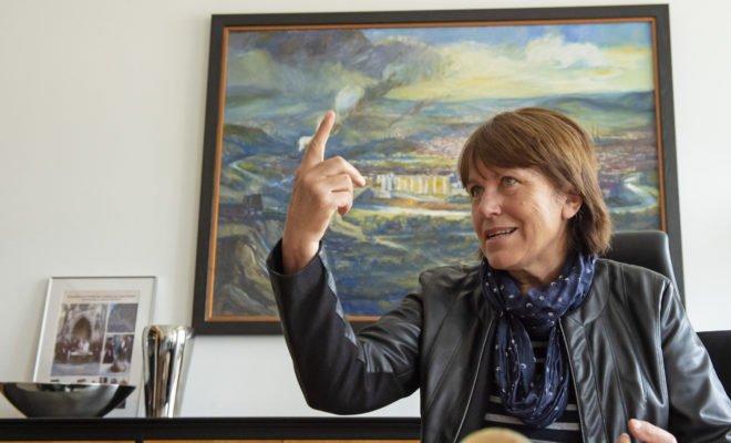 SPD-Oberbürgemeisterin Zwickau