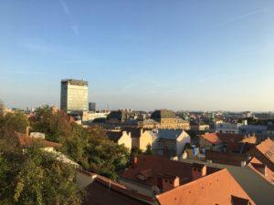 Blick auf Zagreb