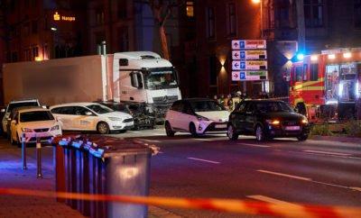 LKW-Crash in Limburg