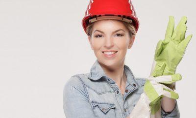 Frau auf Arbeit
