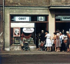 Geschäft in der DDR
