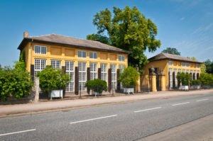Schloss Mosigkau Dessau Eingangsbereich